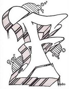 3D Alphabet Fonts | Alphabet letter F Sketch 3D - design perfect day alphabet letters ...