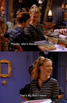 Hahaha!! I remember this episode! Awesome! Season 1, Episode 4 - The One with George Stephanopoulos