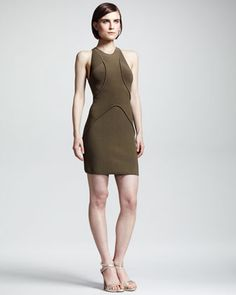 ALC | Drielly Ribbed Halter Dress - CUSP