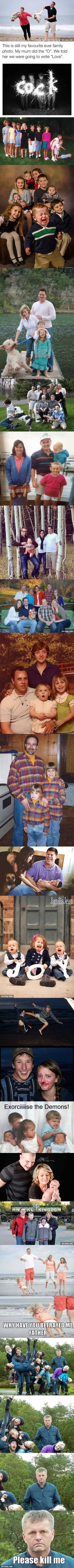 19 Family Photos Gone Wrong... Very Wrong