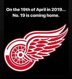 Eeeeeeeeeeeeeee!!!!!!!! Detroit Sports, Red Wings Hockey, Detroit Red Wings, Sports Logo, Coming Home, Logos, Tigers, 4 Life, Blue Dog