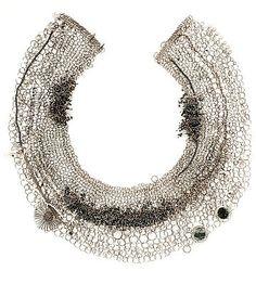 Chain mail necklace _big dans Doerthe FUCHS (DE)