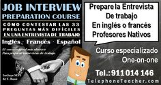 Preparaciónde entrevistasde trabajoen inglés. El primer programa y considerado el mejor para prepararle para una entrevista de trabajo, creado por telephoneteacher. Según los comentarios…