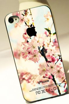 APPLE AND FLORAL - iPhone 4 Case, iPhone