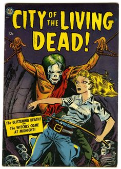 A. C. Hollingsworth | City of the Living Dead | Avon | 1952