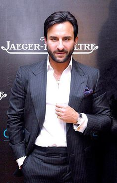 Saif Ali Khan (born: August is an actor in Hindi films. Her father Mansoor Ali Khan Pataudi is a famous cricketer and mother Sharmila Tagore is a famous actress in Hindi films. His ancestors were the Nawabs of the princely state of Pataudi. Saif Ali Khan, Om Shanti Om, New Delhi, Hot Actors, Actors & Actresses, Hottest Actors, Handsome Actors, Manish, Bollywood Stars