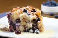 If I could only eat bread pudding for the rest of my life, I would die happy. Fat, but happy.