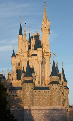 castles of the world pictures | ... Walt Disney World - Cinderella Castle :: City Travel Pictures :: N9514