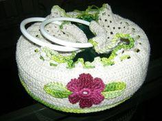 Porta Pratos em crochê, muito lindo e versátil