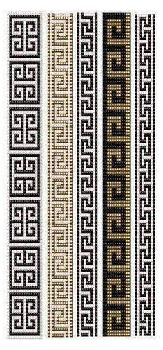 Loom Bracelet Patterns, Bead Loom Bracelets, Bead Loom Patterns, Peyote Patterns, Weaving Patterns, Cross Stitch Patterns, Jewelry Patterns, Native Beading Patterns, Geometric Patterns