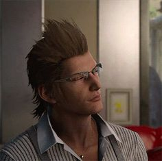 """his-pair-of-spare-glasses: """"ffxvcaps: """""""" Final Fantasy XV → Ignis came up with a new recipe """" """" """"Highness, we– oh? What have we here? Ah. I think… I've come up with a new recipeh!"""" """""""