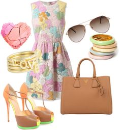 """""""pastel"""" by quiria on Polyvore"""