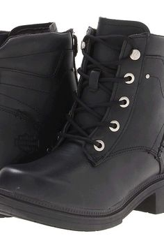 Harley-Davidson Elowen (Black) Women's Boots - Harley-Davidson, Elowen, D83519, Footwear Boot General, Boot, Boot, Footwear, Shoes, Gift - Outfit Ideas And Street Style 2017