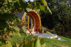 Ty barcud glamping pod west wales original