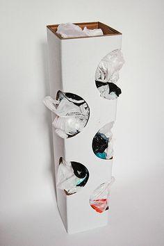 Cardboard Dad: Органайзер для пакетов | Organizer for plastic bags
