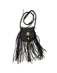 ASOS Fashion Finder   black fringe leather bag from Boticca