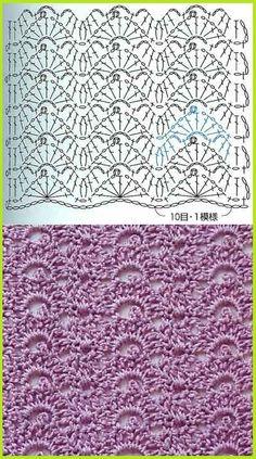 FREE DIAGRAM  crochet stitch