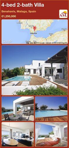 4-bed 2-bath Villa in Benahavis, Malaga, Spain ►€1,250,000 #PropertyForSaleInSpain