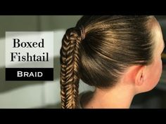 Boxed Fishtail Braid by Holster Brands - YouTube