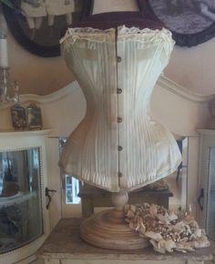 Beautiful Victorian corset...