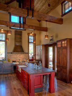 Rendezvous Road - modern - kitchen - denver - by Terra Firma Custom Homes
