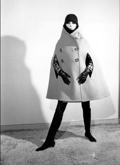 rudi gernreich - love the shaping of this cape coat