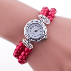 Hot Style Pearl Beads Watch sold by Watch Me. Shop more products from Watch Me on Storenvy, the home of independent small businesses all over the world.