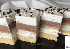 My Recipes, Sweet Recipes, Cake Bars, Winter Food, Vanilla Cake, Tiramisu, Food And Drink, Sweets, Meals