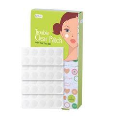 [395 Pcs Wholesale] Cettua 48 Strips Trouble Clear Patch with Tea tree oil #Cettua
