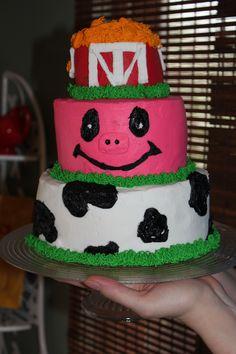 Farm Birthday cake!!!!!