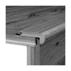 Red Oak Stair Nose Saddle More