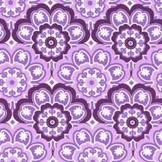 Tamara Kate - Birds and The Bees - Blossoming #fabric in #Lavender