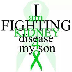 I am Fighting Kidney Disease 4 My Son! ♥