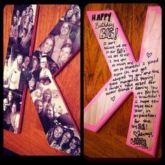 DIY Letter- Great Gift Idea!