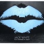 Jack White solo gig poster. Very cool design.