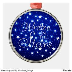 Blue Stargazer Metal Ornament Holiday Cards, Christmas Cards, Christmas Decorations, Christmas Ornaments, Stargazer, Family Memories, Christmas Items, Holiday Outfits, Holiday Treats