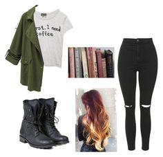 """Untitled #199"" by trinity-taylor-1 ❤ liked on Polyvore featuring Wet Seal, Topshop, P-L-D-M by Palladium and Børn"