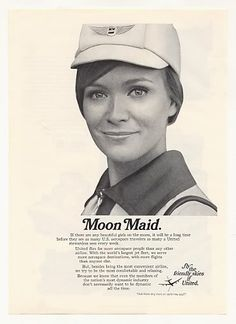 United Airlines Moon Maid