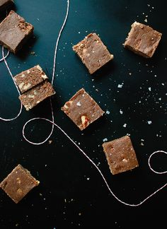 This delicious fudge recipe is healthier than most and lighter in calories, thanks to oat flour! It tastes like a cross between fudge and no-bake cookies.