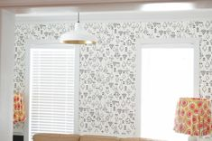 Before I get to the tips for hanging wallpaper, I'm sure you're dying to know which one I chose. I narrowed it down to these 5 amazing black and white designs and then chose two and ordered samples Where To Buy Wallpaper, Black And White Design, Valance Curtains, Tips, Painting, Home Decor, Decoration Home, Room Decor, Painting Art
