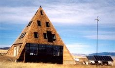 pyramid house montana wickiup builders Top 15 Eco Innovations of the 21st Century