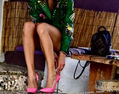 Pink heels, casadei, legs, colors, photo shooting, shoes,fashion,