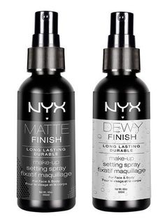 Nyx Cosmetics Matte Finish Makeup Setting Spray - Makeup setting spray cheaper than makeup forever etc