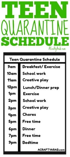 I put this schedule of things to do with my quarantine teens to give them a sense of normalcy during the novel coronavirus, when the world may feel scary. Summer Schedule, Kids Schedule, School Schedule, Daily Schedules, School Routine For Teens, School Routines, Daily Routines, French Language Learning, Learning Spanish