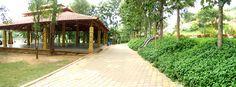 Mantap at Radhakunj Garden at Art of Living International Center , Bangalore