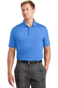 Nike Golf Dri-FIT Players Polo with Flat Knit Collar Anthracite 838956 Custom Polos, Mens Golf, Play Golf, Nike Golf, Golf Outfit, Ladies Golf, Nike Dri Fit, Wholesale Clothing, Classic Looks