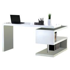 modern white office desks. Atkinson Desk. Chic Office DecorModern Modern White Desks D
