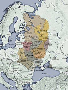 Principalities of Kievan Rus (1054-1132)