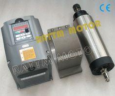 Aliexpress.com: Comprar Refrigerado por aire 2.2KW husillo ER20 y 2.2KW 220 V inversor y 80 mm de aluminio soporte de soporte de la cámara fiable proveedores en Changzhou Rattm Motor Co., Ltd.