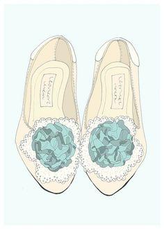 Marie Antoinette's Fancy... Small Set. kr250,00, via Etsy.